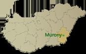 Murony térkép